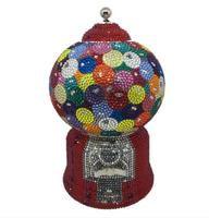 Judith Leiber Couture Gumball Machine Handbag