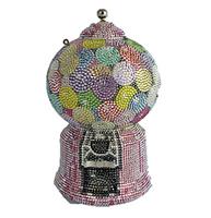 Judith Leiber Couture Shimmer Gumball Machine Handbag