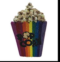 Judith Leiber Couture Main Feature Popcorn Handbag