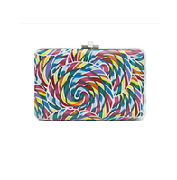 Judith Leiber Couture Whirly Pop Slim Slide Clutch