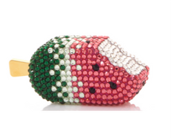 Judith Leiber Couture Watermelon Popsicle Pillbox