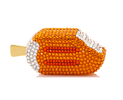 Judith Leiber Couture Creamsicle Pillbox