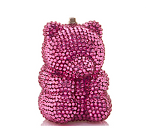 Judith Leiber Couture Rose Gummy Bear Pillbox