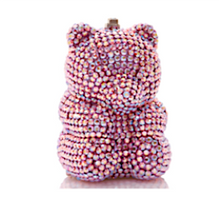 Judith Leiber Couture Light Rose Gummy Bear Pillbox