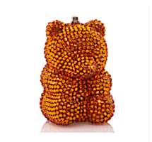 Judith Leiber Couture Tangerine Gummy Bear Pillbox