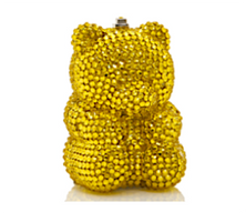 Judith Leiber Couture Citrine Gummy Bear Pillbox
