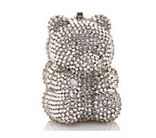 Judith Leiber Couture Rhinestone Gummy Bear Pillbox