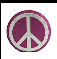 Judith Leiber Couture Peace Out Disc Handbag