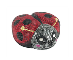 Judith Leiber Couture Cindy Lady Bug Handbag