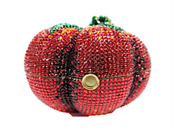 Judith Leiber Couture Tomato Heirloom Handbag