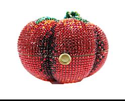 Judith Leiber Couture Tomato Heirloom Handbag