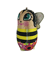 Judith Leiber Couture Busy Bee Russian Doll Handbag