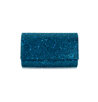 Judith Leiber Couture Fizzy Fullbead Ocean Clutch