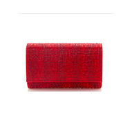 Judith Leiber Couture Fizzy Fullbead Light Siam Clutch