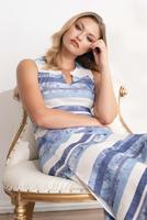 Komarov Long Pocket Dress