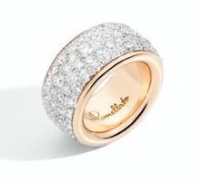 Pomellato Iconica Rose Gold Maxi Diamond Ring