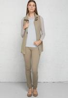 Anatomie Lightweight Delaney Travel Vest - Khaki