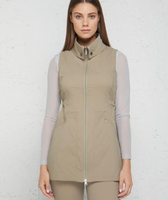 Anatomie Lightweight Delaney Travel Vest Khaki