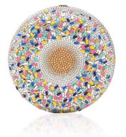 Judith Leiber Couture Vanilla Sprinkles Donut
