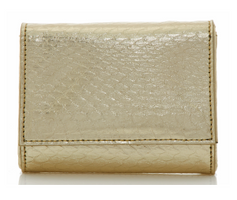 Judith Leiber Couture Micro Fizzy Elaphe Clutch Champagne