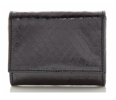 Judith Leiber Couture Micro Fizzy Elaphe Clutch Anthracite