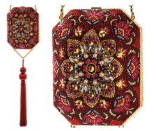 Judith Leiber Couture Disney Kashan Octagon Bag