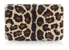 Judith Leiber Couture Disney Seamless Leopard Clutch