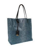 Linde Gallery Galuchat Metallic Suede Tote