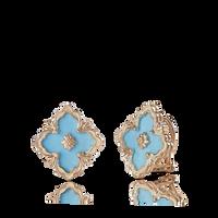 Buccellati Opera Turquoise Button Earrings