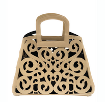 SKB & Co. Filigree Tote in Sand