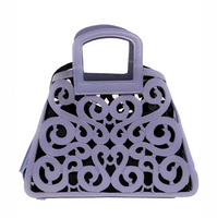 SKB & Co. Filigree Tote in Periwinkle