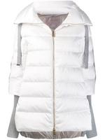 Herno Contrast Sleeves Puffer Jacket