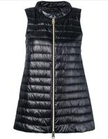 Herno Black Gilet Puffer Vest
