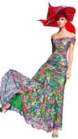 Olvi's Trend Long Floral Lace Dress