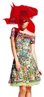 Olvi's Trend Floral Print Short Dress
