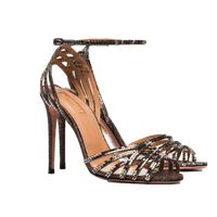 Aquazzura Studio Multi Metal Twilight Sandal