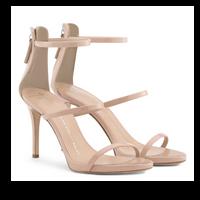 Giuseppe Zanotti Alien Patent Leather Sandal