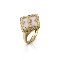 Buccellati Opera Opal Floral Ring