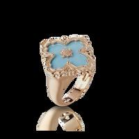 Buccellati Opera Turquoise Floral Ring