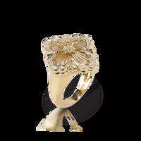 Buccellati Opera Pearl Tulle Raggiera Floral Ring