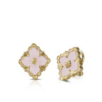 Buccellati Opera Opal Button Earrings