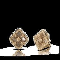Buccellati Opera Pearl Tulle Raggiera Button Earrings