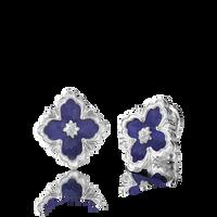 Buccellati Opera Lapis Button Earrings
