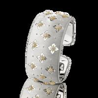 Buccellati Macri Giglio Cuff Diamond White Gold Bracelet
