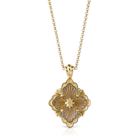 Buccellati Opera Mother of Pearl Pendant Necklace