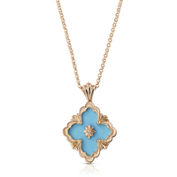 Buccellati Opera Turquoise Pendant Necklace