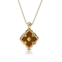 Buccellati Opera Red Jasper Pendant Necklace
