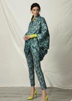 Chiara Boni La Petite Robe Beau Matelasse Print Coat