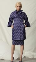 Chiara Boni La Petite Robe Drusilla Matelasse Print Coat