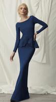 Chiara Boni La Petite Robe Hilba LS Long Dress